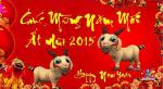 Chúc mừng năm mới Ất Mùi 2015